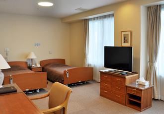 【ご家族様用宿泊施設】ご家族様が宿泊できるお部屋をご用意しています