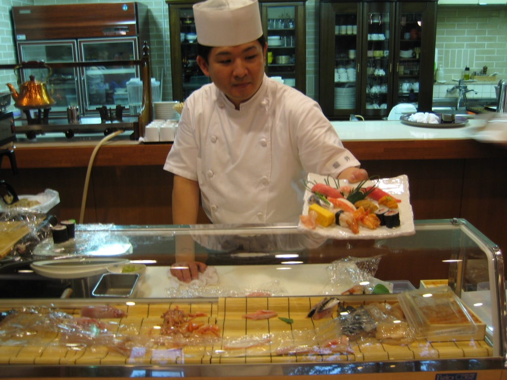 寿司の美食倶楽部 調理師
