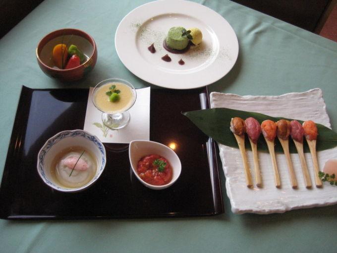 ソフト食の美食倶楽部 寿司会席