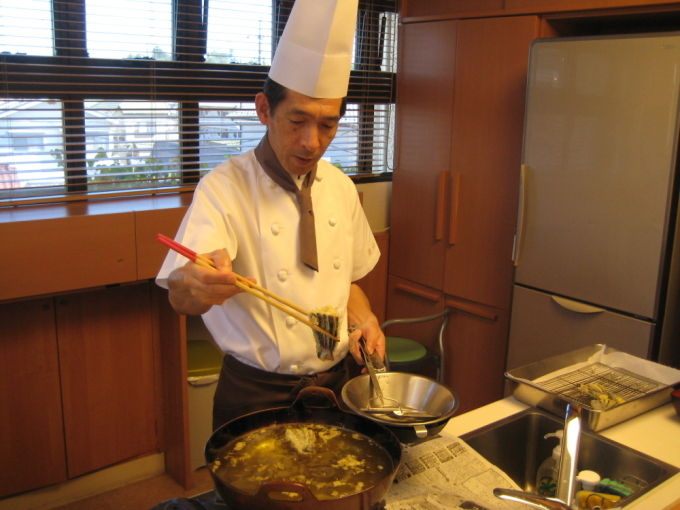 病棟内調理 野菜天丼