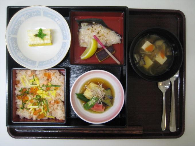 会席膳 軟菜食