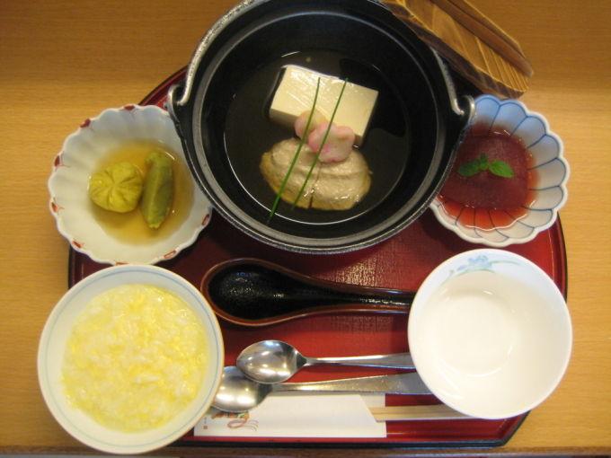 病棟内調理 ソフト食 湯豆腐