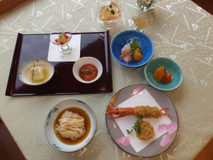 ソフト食の美食倶楽部 蕎麦会席