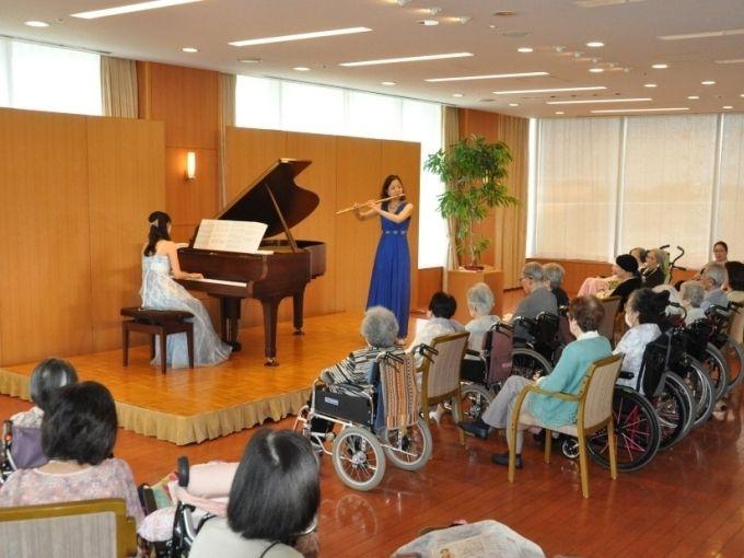 フルートとピアノ